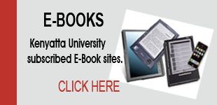 Link to Kenyatta University subscribed Ebooks.