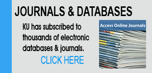 Link to Kenyatta University subscribed E-Journals and Databases.